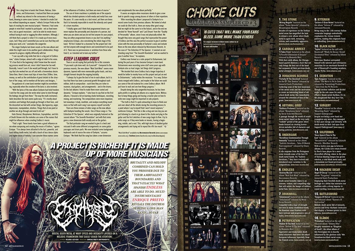Metalegion Issue #3 (2018) + CD