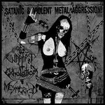 Warfist / Exhalation / Mesmerized - SplitCD - Satanic & Violent Metal Aggression (CD)