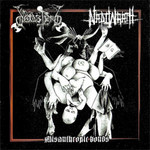 Dodsferd / Nadiwrath - SplitCD - Misanthropic Bonds (CD)