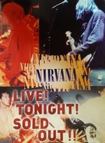 Nirvana - Live! Tonight! Sold Out!! (DVD) DVD Box