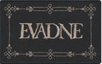 EVADNE - Logo - Patch