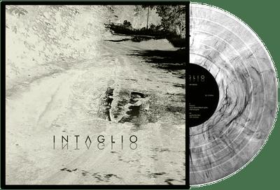 Intaglio - Intaglio (Crystal Clear with Black Marbled) (12'' LP) Cardboard Sleeve