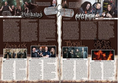 Metalegion Issue #3 (2018) + CD