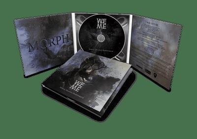 Woe Unto Me - Spiral-Shaped Hopewreck (MCD) Digipak