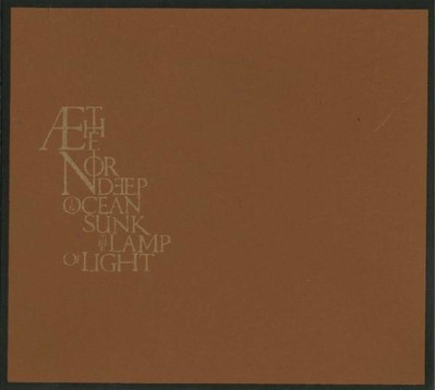 Æthenor - Deep In Ocean Sunk The Lamp Of Light (CD) Digisleeve