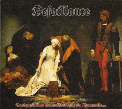 Defaillance - Contemplation Misanthropique De L'Humanite (CD) Digipak