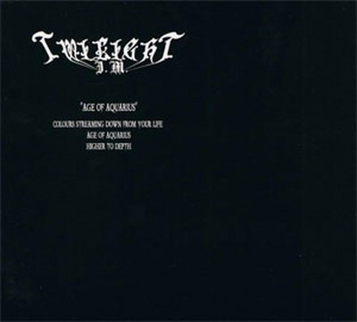 Twilight Is Mine / Grey Heaven Fall - SplitCD - The Original Seed of Decadence / Age of Aquarius (CD) Digipak