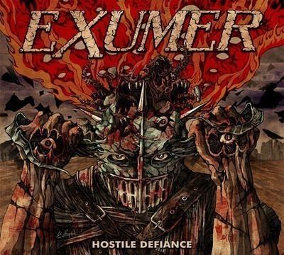 Exumer - Hostile Defiance (CD) Digipak