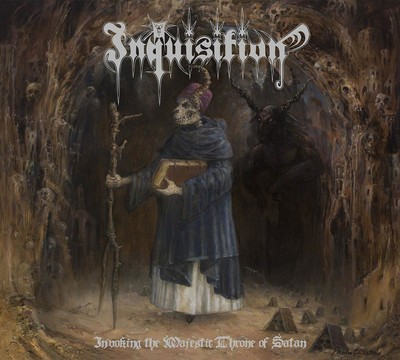 Inquisition - Invoking The Majestic Throne Of Satan (CD) Digipak