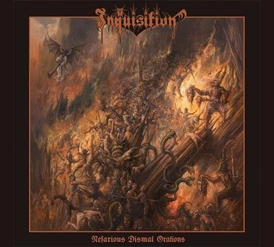Inquisition - Nefarious Dismal Orations (CD) Digipak