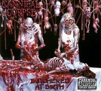 Cannibal Corpse - Butchered At Birth (CD) Digipak