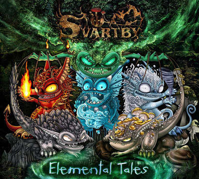 Svartby - Elemental Tales (CD) Digipak