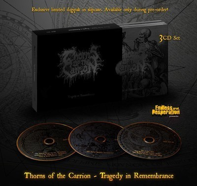 Thorns of the Carrion - Tragedy In Remembrance (3xCD) Digipak