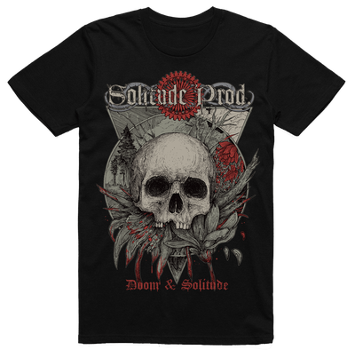 Solitude Productions - Doom & Solitude (T-Shirt - Black)