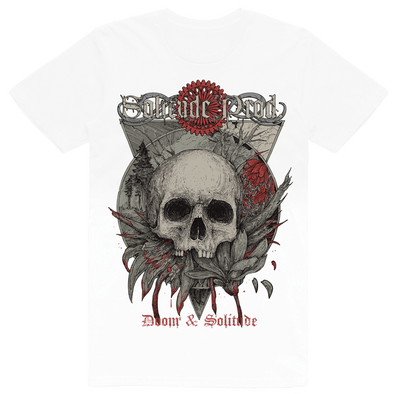 Solitude Productions - Doom & Solitude (T-Shirt - White)