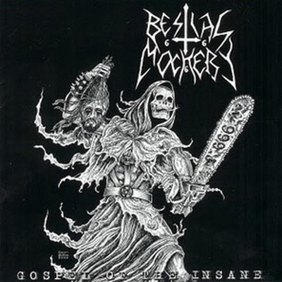 Bestial Mockery - Gospel Of The Insane (CD)