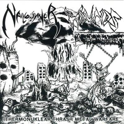 Nailgunner / Wounds - SplitCD - Thermonuklear Thrash Metal Warfare (CD)