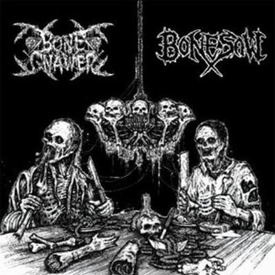 Bone Gnawer / Bonesaw - SplitMCD (MCD)