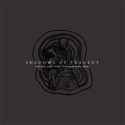 Acedi / Grimlair / Black Hate / Blodarv / Nocturnal Depression - SplitCD - Shadows Of Tragedy (CD)