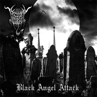 Black Angel / Night Witchcraft - SplitCD - Black Angel Attack (CD)