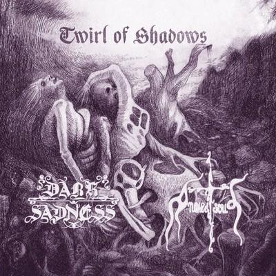 Dark Sadness / A Naked Soul - SplitCD - Twirl Of Shadows (CD)