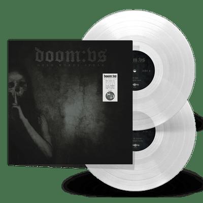 Doom:VS - Dead Words Speak (Clear) (2x12'' LP) Gatefold