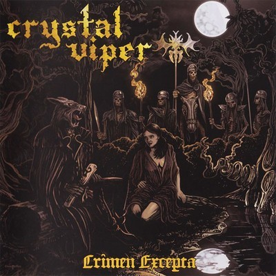 Crystal Viper - Crimen Excepta (CD)