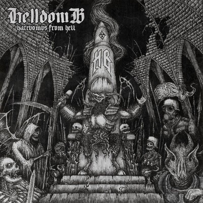 Hellbomb - Hatebombs From Hell (CD)