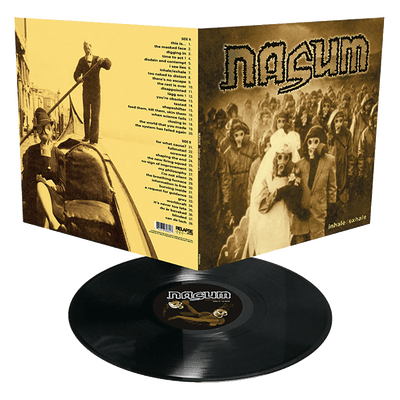 Nasum - Inhale / Exhale (12'' LP) Gatefold