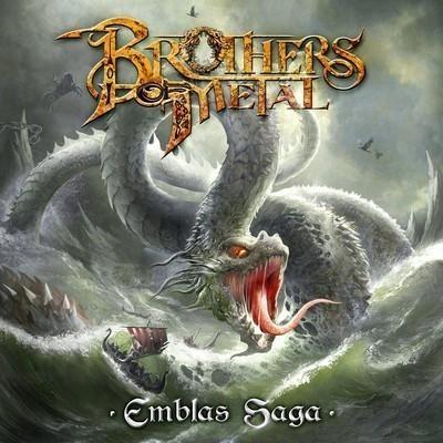 Brothers Of Metal - Emblas Saga (CD)