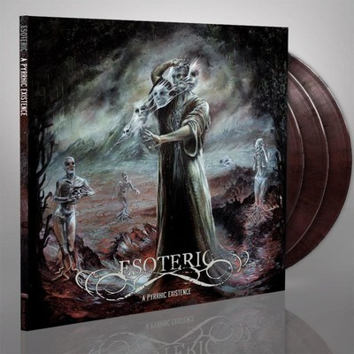 Esoteric - A Pyrrhic Existence (black & red marbled) (3x12'' LP) Gatefold