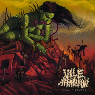 Vile Apparition - Depravity Ordained (CD)
