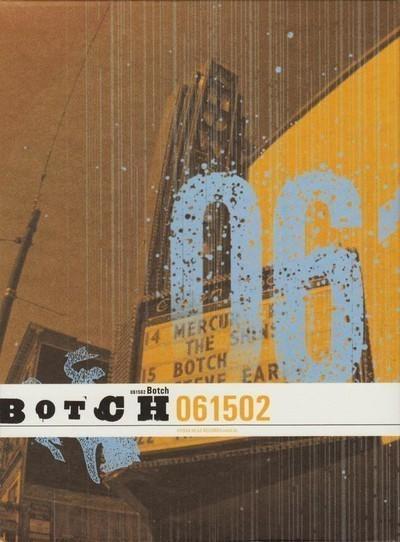 Botch - 061502 (CD+DVD) A5 Digipak