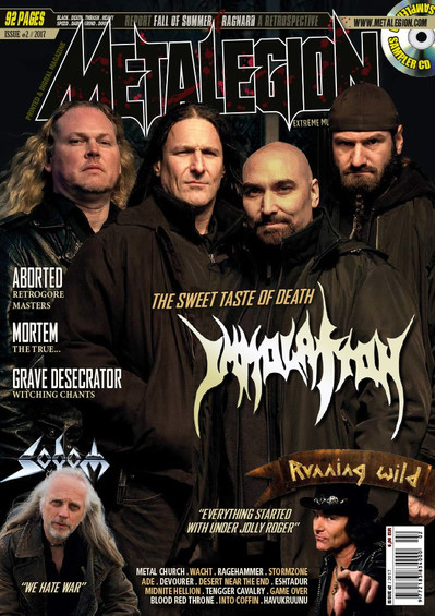 Metalegion Issue #2 (2017) + CD