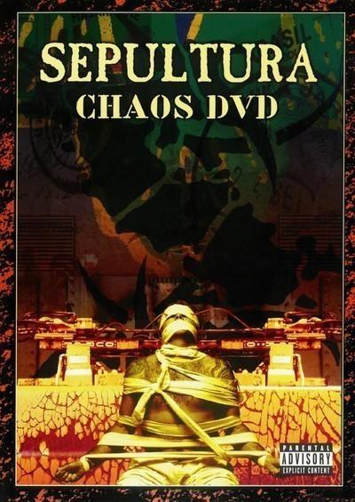 Sepultura - Chaos DVD (DVD) DVD Box