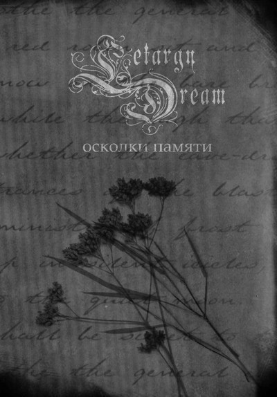 Letargy Dream - Осколки Памяти (Fragments Of Memory) (Pro CD-R) DVD Box