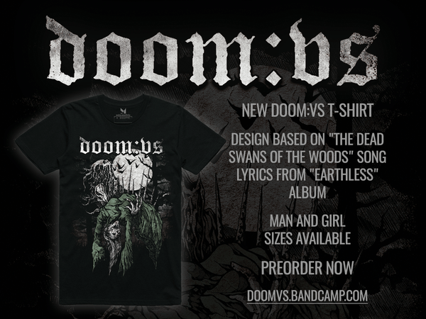 New DOOM:VS T-shirt preorder